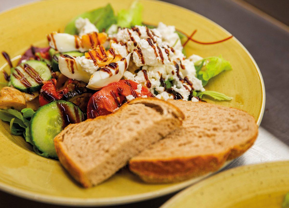 Lunch-salade-Strandhuys