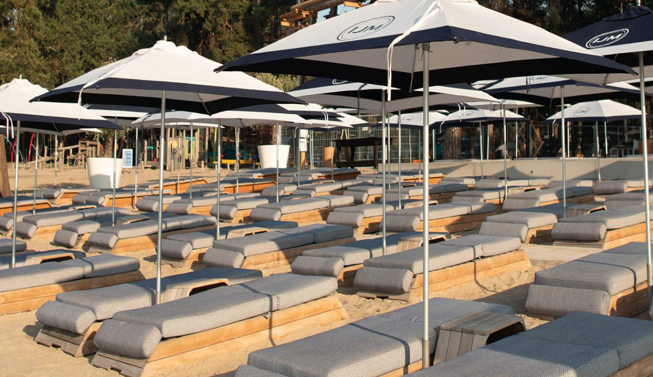 Luxe-ligbed-Strandbad-huren