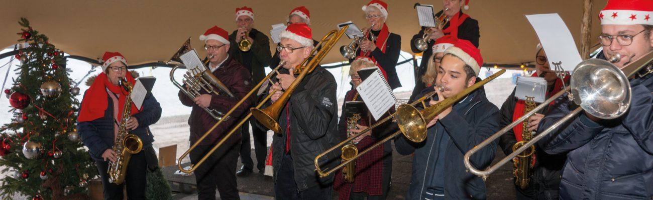 Muzikanten-kerstmarkt