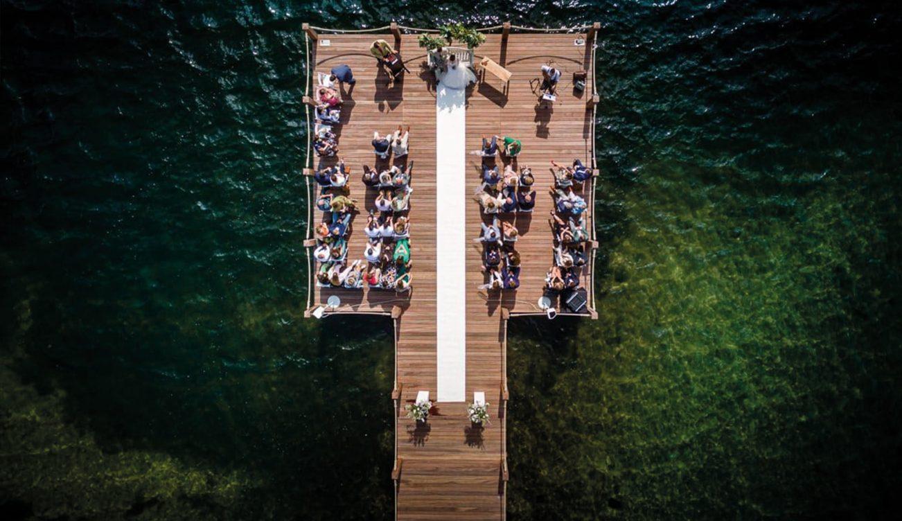 Trouwen-water-steiger