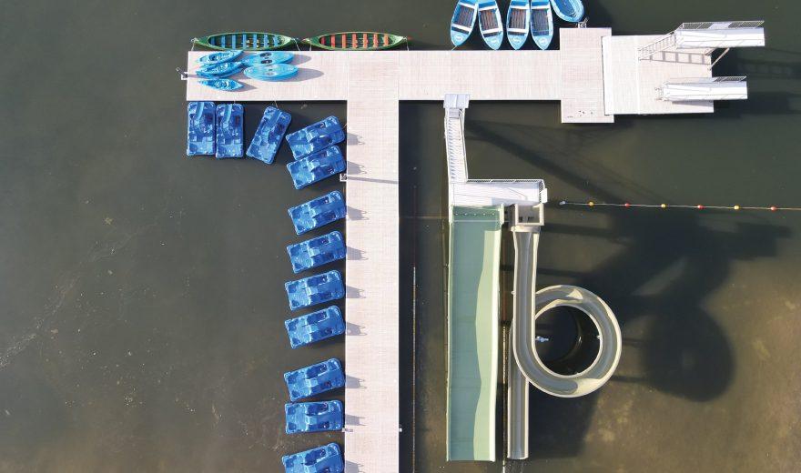Verhuur-waterfiets-sup-Strandbad