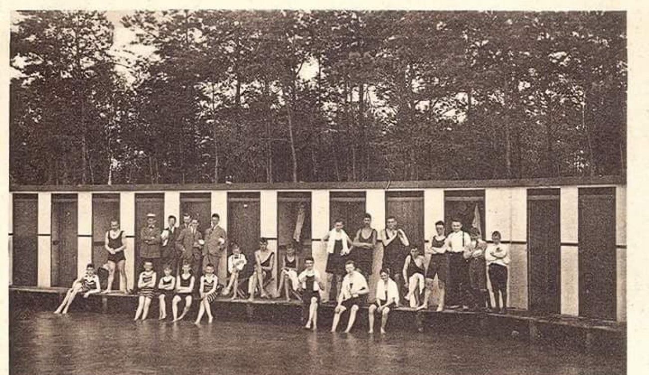 Zwemmen IJzeren Man vroeger